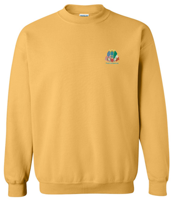 bfbab54c560e Crewneck Sweatshirt with Irish design