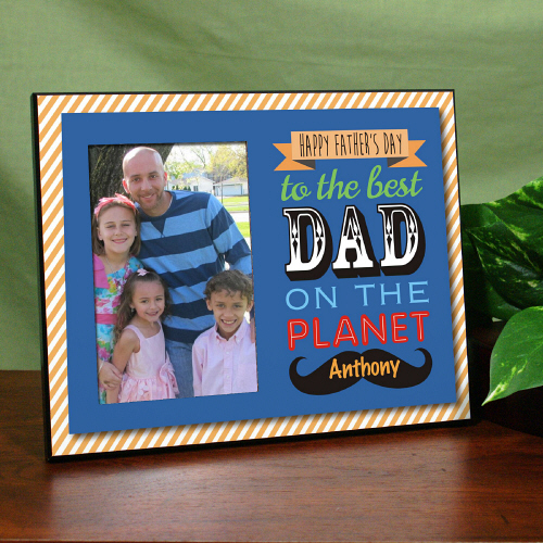 personalized gifts for dads fathers best dad printed frame