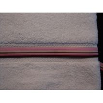 Pink/Brown Stripe Ribbon