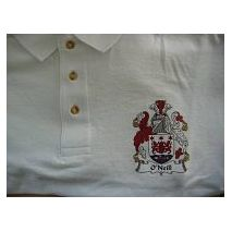Printed Coat of Arms Polo