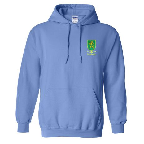 Pull over hoodie with Coat of Arms Sheild