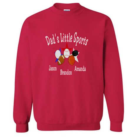 Embroidered Father's Sweatshirt