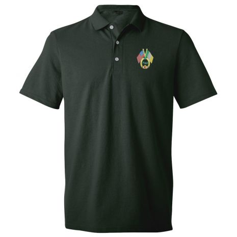 Embroidered Irish Design Polo Shirt